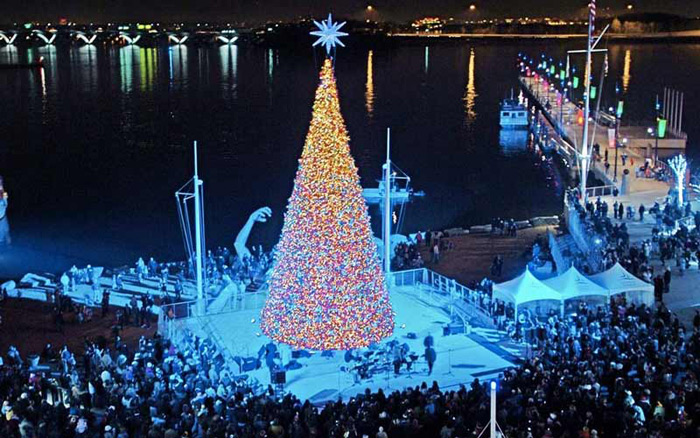 Come with family and friends for a full day of holiday fun topped off by a spectacular tree lighting show and fantastic fireworks finale. & National Harbor Holiday Tree Lighting and Fireworks - DC Metro ... azcodes.com