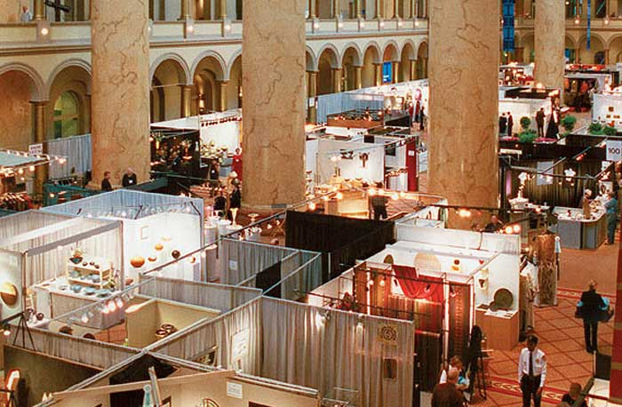 34th annual smithsonian craft show dc metro plus magazine for Fine woodworking magazine discount