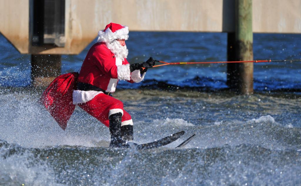 Water Skiing Santa Dc Metro Plus Magazine