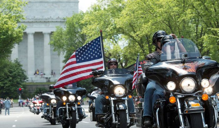 """Discover Car Lot >> Rolling Thunder Motorcycle """"Ride For Freedom"""" - DC Metro Plus Magazine"""