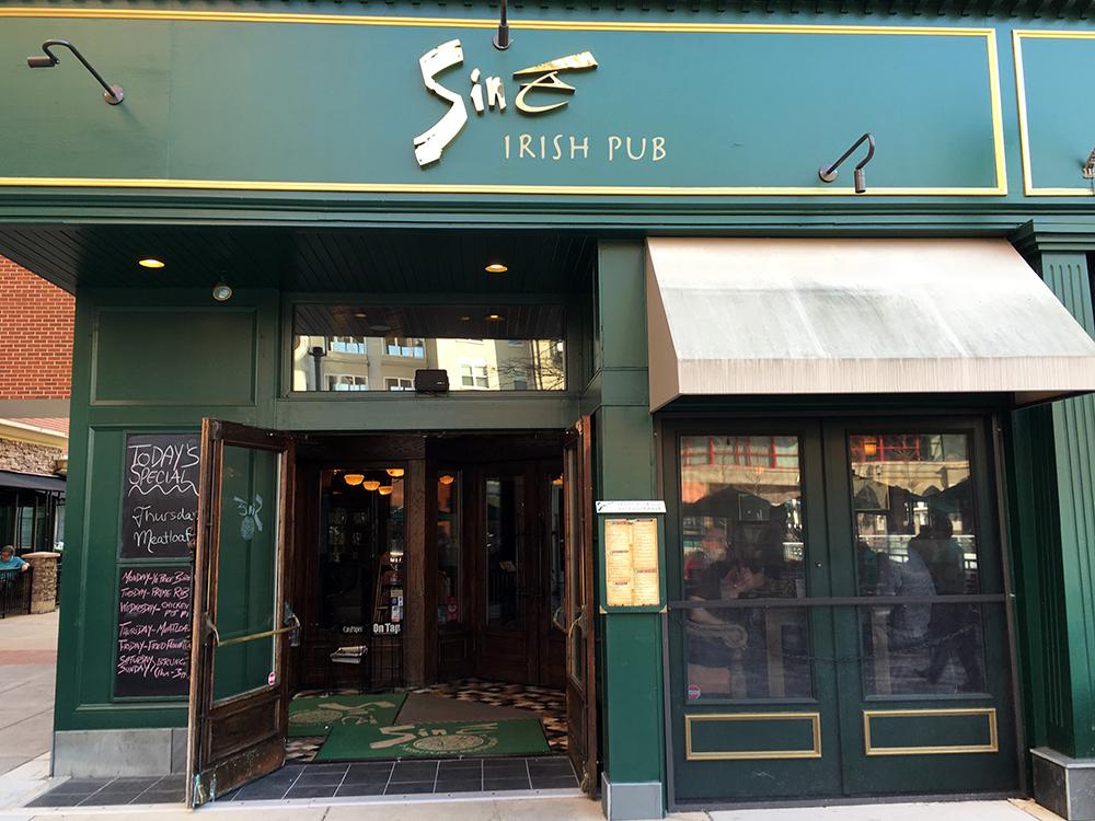 Sine Irish Pub Restaurant Arlington Va