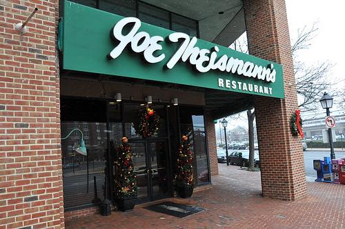 Joe Theismann S Restaurant Dc Metro Plus Magazine